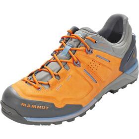 Mammut Alnasca Low GTX Shoes Men grey/orange